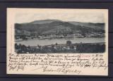 ORSOVA   VEDERE  GENERALA   CLASICA  CIRCULATA  1901, Printata
