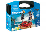 Playmobil Pirates, Set portabil - Pluta piratilor