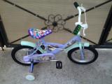 """Fairies Disney - bicicleta copii 14"""" (4-7 ani), 1"""