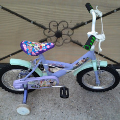 "Fairies / Disney / bicicleta copii 14"" (4-7 ani), 1"