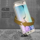 Husa de silicon 360 fata / spate Samsung Galaxy S6 Edge / S6 Edge Plus / S7 Edge