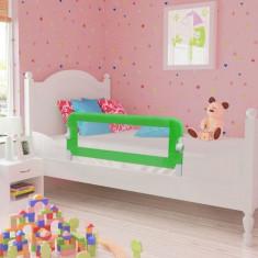 Apărătoare de pat pentru copii mici, 102 x 42 cm, verde