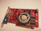 Placa video AGP 8X Ati Radeon 9200le 128Mb DDR 128bit DirectX 8.1, 128 MB, ATI Technologies