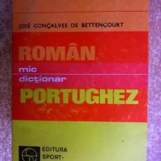 Jose Goncalves de Bettencourt – Mic dictionar roman-portughez