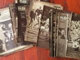 Lot 52 reviste sportive l.  Maghiara cu multe ilustratii / Kepes Sport anii 60 !