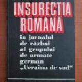 Insurectia Romana in jurnalul de razboi al grupului de armate german..