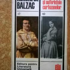 Honore de Balzac – Stralucirea si suferintele curtezanelor