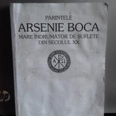 PARINTELE ARSENIE BOCA MARE INDRUMATOR DE SUFLETE DIN SECOLUL XX