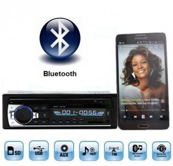 Casetofon / Radio Auto Bluetooth si HandsFree 12V foto