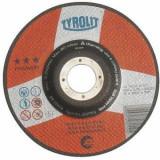 Disc abraziv de debitat 125x1 TYROLIT Premium*** pentru Inox