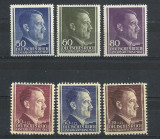 OCUPATIA GERMANA IN POLONIA 1942 – ADOLF HITLER, serii  CU SARNIERA, L98, Nestampilat