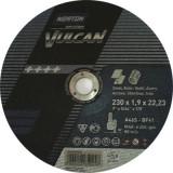 Disc abraziv de debitat 230x2 Norton Vulcan pentru Metal si Inox