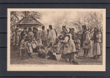 RAZBOIUL   1914/16  GRUP  DE  REFUGIATI  RUTENI  IN  BUKOVINA