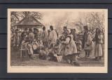 RAZBOIUL   1914/16  GRUP  DE  REFUGIATI  RUTENI  IN  BUKOVINA, Necirculata, Printata
