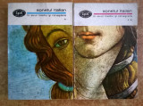 Sonetul italian in Evul Mediu si in Renastere {2 volume}