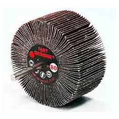 Perii lamelare radiale cu tija 80x40x6 #80