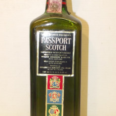 Whisky passport scotch,  scotch whisky, cl.75 gr. 40 ani 60 RARE ACCISE