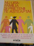 Afis romanesc comunist protectia muncii Nu uita
