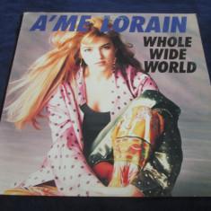 """A'me Lorain - Whole Wid World _ vinyl,12"""" _ RCA (SUA , 1989 ), VINIL, rca records"""