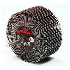 Perii lamelare radiale cu tija 60x40x6 #80