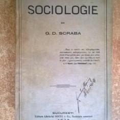 G. D. Scraba – Sociologie