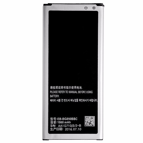 Acumulator Samsung Galaxy Alpha G850F G8508S 1860mAh cod EB-BG850BBE second hand