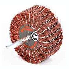 Perii lamelare radiale combinate cu tija 80x50x6 A60