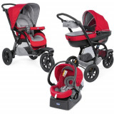 Carucior Trio Activ3 Car Kit RED BERRY, Chicco
