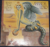 Vinyl/vinil Amanda Lear – Never Trust A Pretty Face ,Germany 1979,VG+