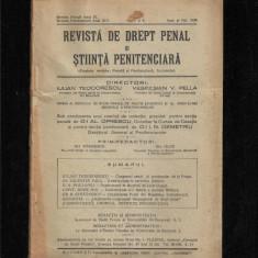 REVISTA DE DREPT PENAL SI STIINTA PENITENCIARA - nr.7-8/1930