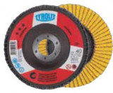 Disc lamelar frontal 125 mm #40 Tyrolit PREMIUM pentru Metal si Inox