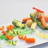 Ustensila decorat legume