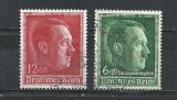 GERMANIA (REICH) 1938 – PORTRET ADOLF HITLER, serie stampilata, L130, Stampilat