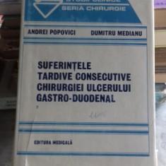 SUFERINTELE TARDIVE CONSECUTIVE CHIRURGIEI ULCERULUI GASTRO-DUODENAL - ANDREI POPOVICI