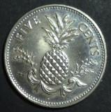 Bahamas 5 cents 1998, America de Nord