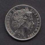 Australia 20 cents 2005, Australia si Oceania