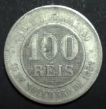 Brazilia 100 reis 1898, America Centrala si de Sud