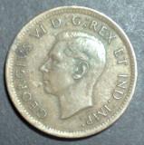 Canada 1 cent 1938, America de Nord