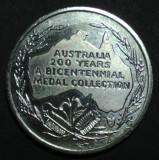Australia 200 ani de la emisia crowing, Australia si Oceania
