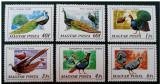 Ungaria, fauna, pasari, 1976, MNH, Nestampilat