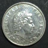 Caraibe 10 cents 2004, America de Nord