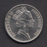 Australia 10 cents 1998, Australia si Oceania