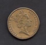 Australia 1 dollar 1985 2, Australia si Oceania