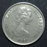 Islands Cayman 25 cents 1982, Europa