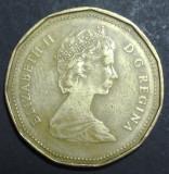 Canada 1 dollar 1987, America de Nord
