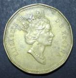 Canada 1 dollar 1990, America de Nord