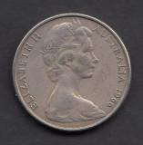 Australia 20 cents 1966, Australia si Oceania