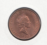 Helena & Ascension 2 pence 1998 UNC, Europa