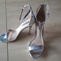 Sandale Atmosphere, 38, Argintiu