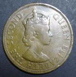 Caraibe 2 cents 1957, America de Nord